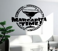 Wall Decal Bar Alcohol Drink Margarita Glass Decor For