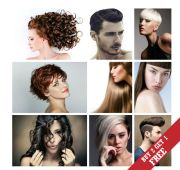 a3 size poster options hair salon