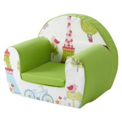 Soft Chairs For Toddlers Champagne Chair Covers Paris Lime Childrens Kids Comfy Foam Armchair Seat Girls | Ebay