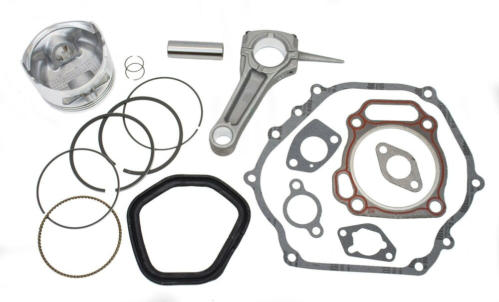 New Piston Kit With Connecting Rod and Full Gasket Set