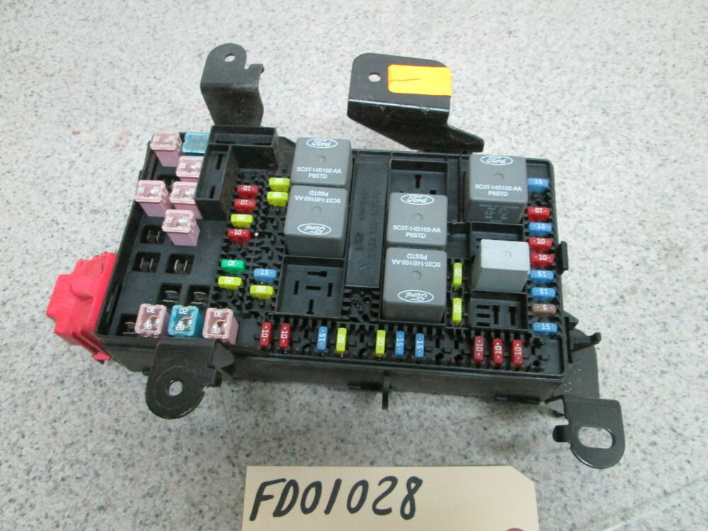 Fuse Box Of 2010 Ford F 250 Sel