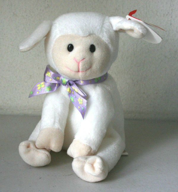 Ty Beanie Babies Collection Sheepishly Lamb 7