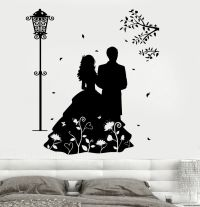 Wall Decal Love Very Romantic Couple Mural Vinyl Decal ...