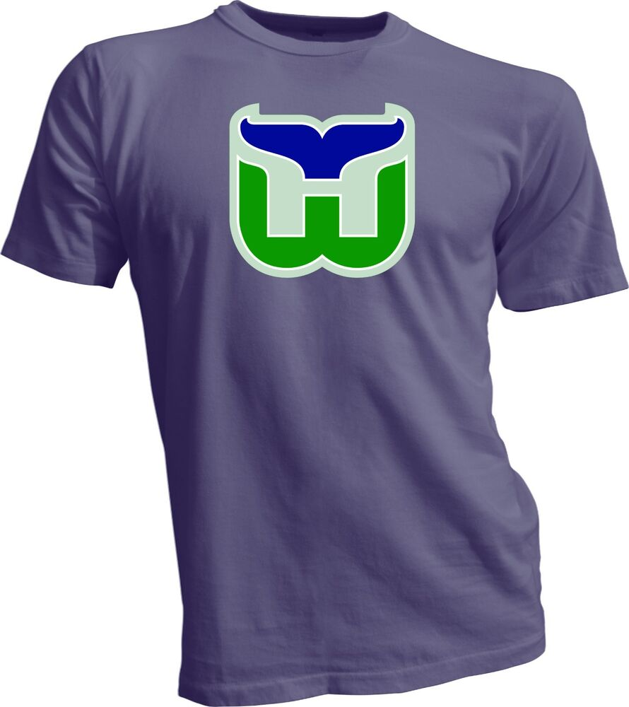HARTFORD WHALERS DEFUNCT NHL OLD TIME HOCKEY Gray T SHIRT NEW Size S Xl EBay