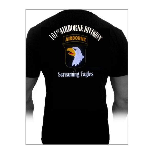 Tee-shirt T-shirt 101st Airborne Screaming Eagles