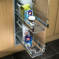 Hafele Pull-Out Wire Basket Set For 300-600mm Cabinet ...