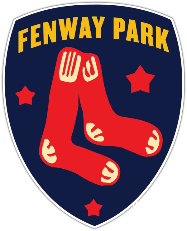 Boston Red Sox Fenway Park Mlb Baseball Car Bumper Window