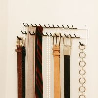 Tie Rack For Closet. Dalamia High Quality Belt And Tie