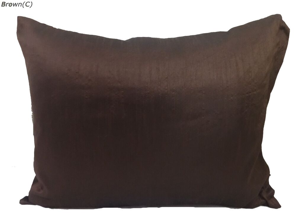 Chocolate brown King Queen Size Standard Travel Size Pillow Case COVER Removable  eBay