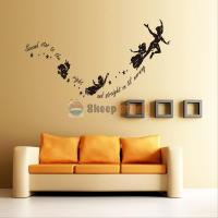 Tinkerbell Star Peter Pan Wall Decal Kids Room Nursery ...
