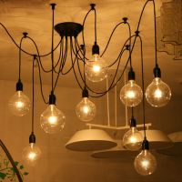 Vintage Fixture Retro Pendant Light Ceiling Lamp ...