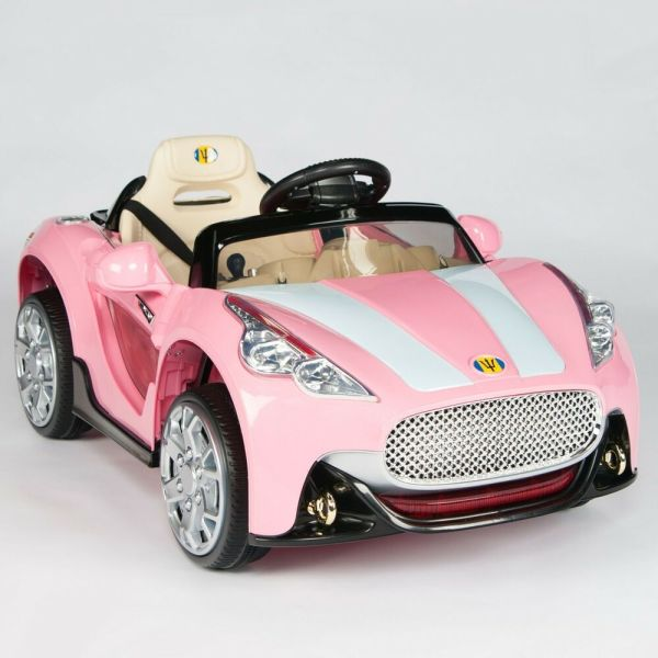 Maserati Style 12v Kids Ride Car Electric Power Wheels Remote Control Pink
