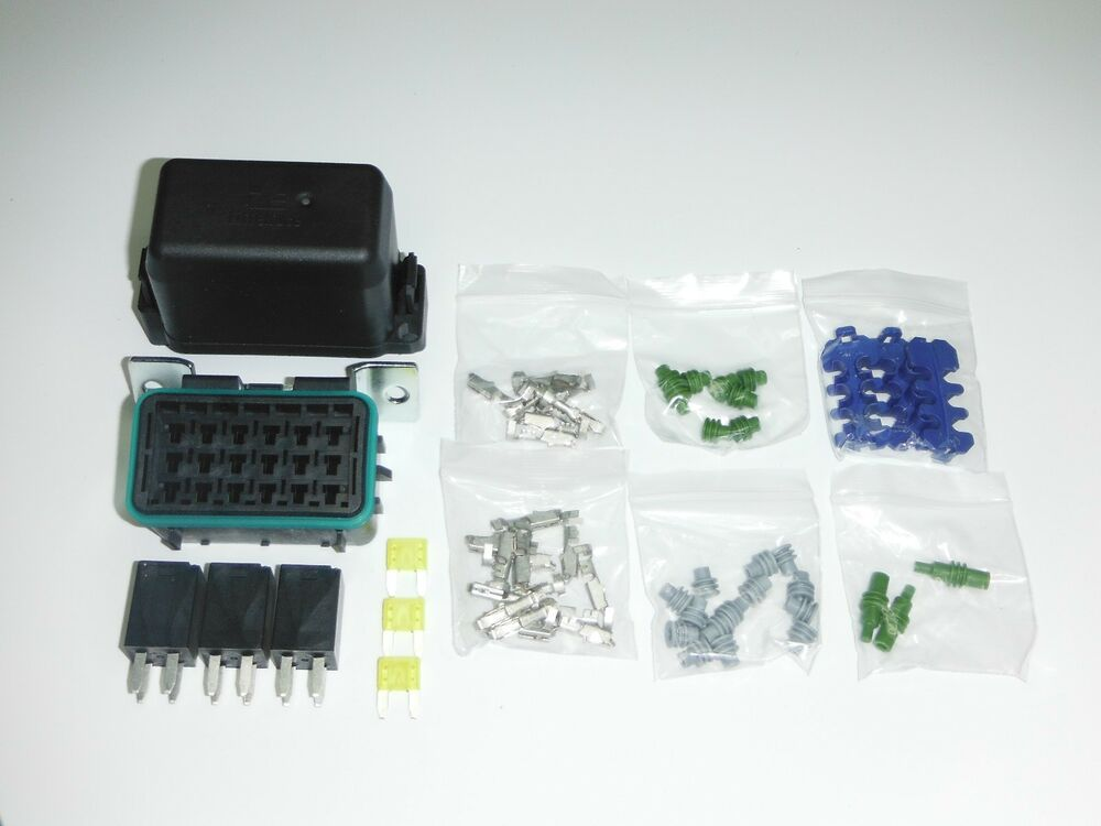 Description Of The Relays Fuses Of The Power Distribution Box See