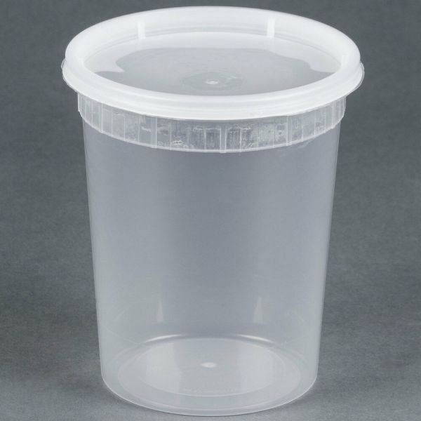 Sunnycare 32 Oz Clear Deli Container With Lid 250