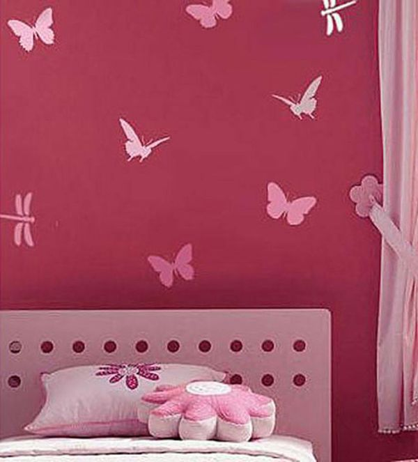 Butterfly And Dragonfly Stencil Kit - 4-piece Fun