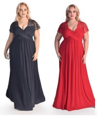 Plus Size Evening Dress,Maternity Maxi, bridesmaid size 16 ...
