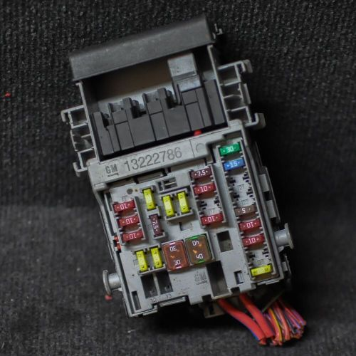 small resolution of details about opel vauxhall astra j diesel fuse box 13222786