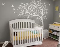 Decorative wall tree stickers, Nursery wall tattoos, all ...