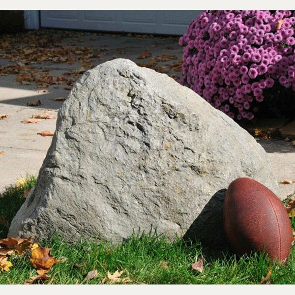 faux rock rocks jumbo outdoor garden