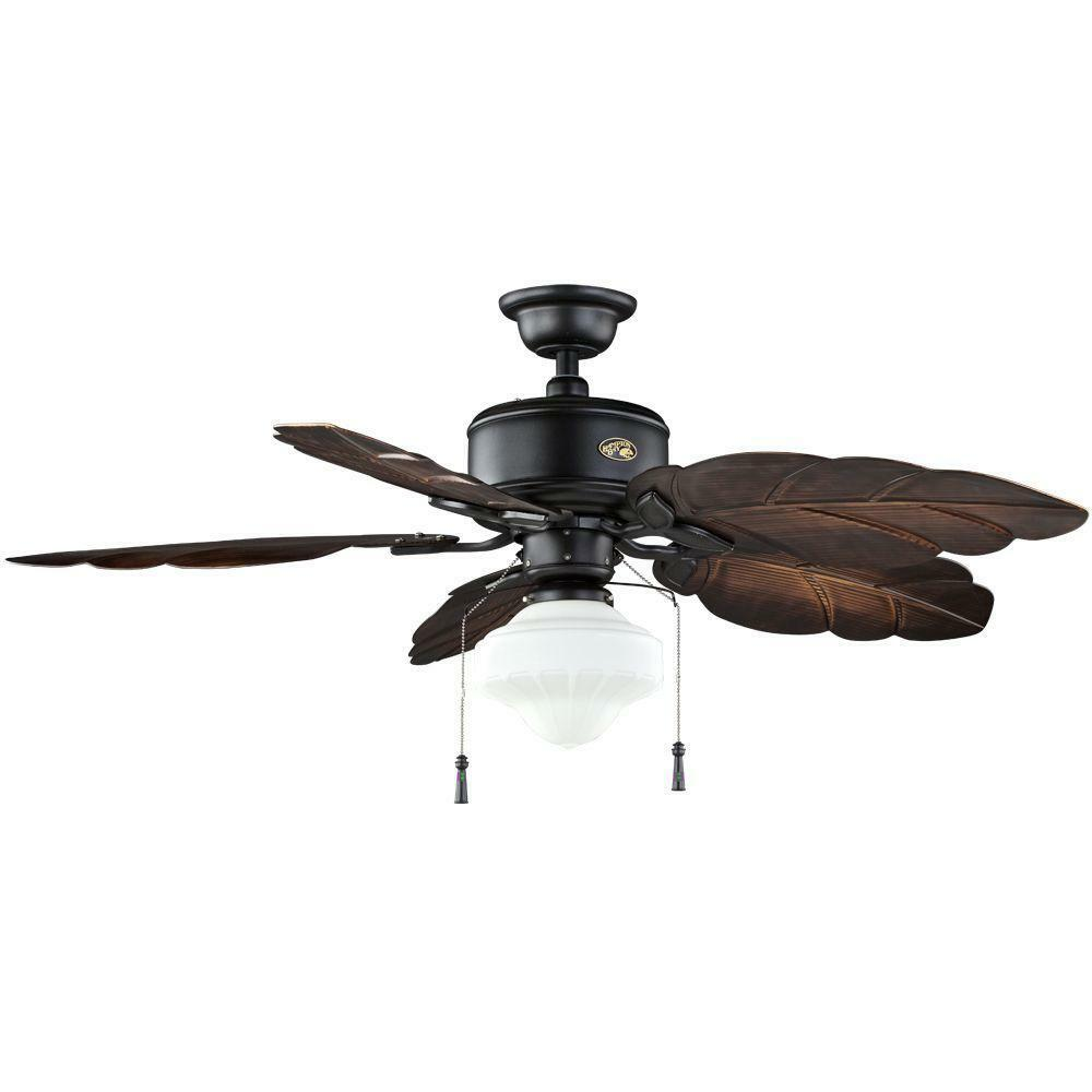 Hampton Bay Nassau 52 in. Natural Iron Indoor/Outdoor