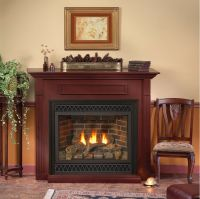 Empire White Mountain Hearth Tahoe Deluxe Direct Vent Gas ...