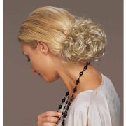 short curly clip in - synthetic