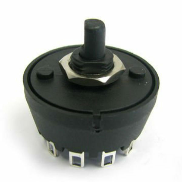 Mfr01 Sp5t Rotary Switch 6 Connection 5 Position Switch