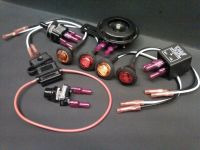 DIY Turn Signal Kit - Horn LED Lights Toggle Switch Button ...