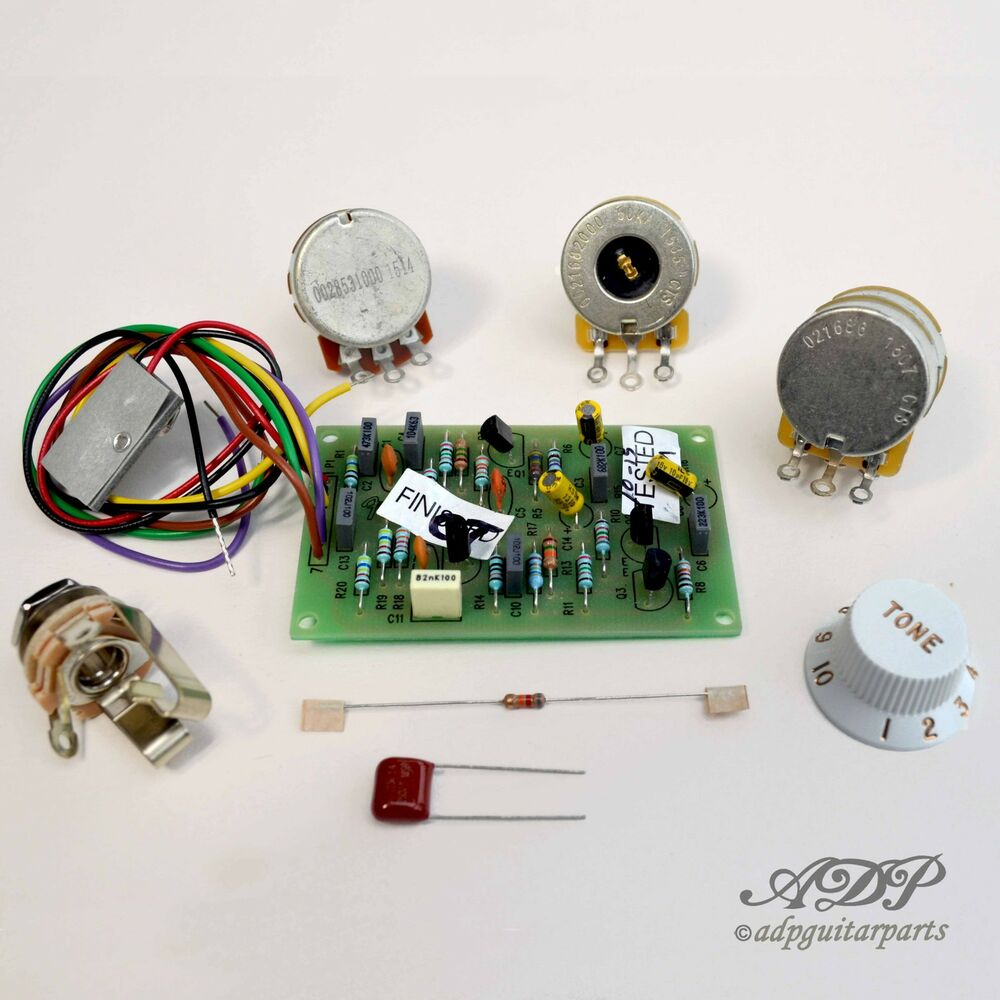 medium resolution of details about fender mid bost kit 25db eric clapton tbx control pot wiring diagram 0057577000
