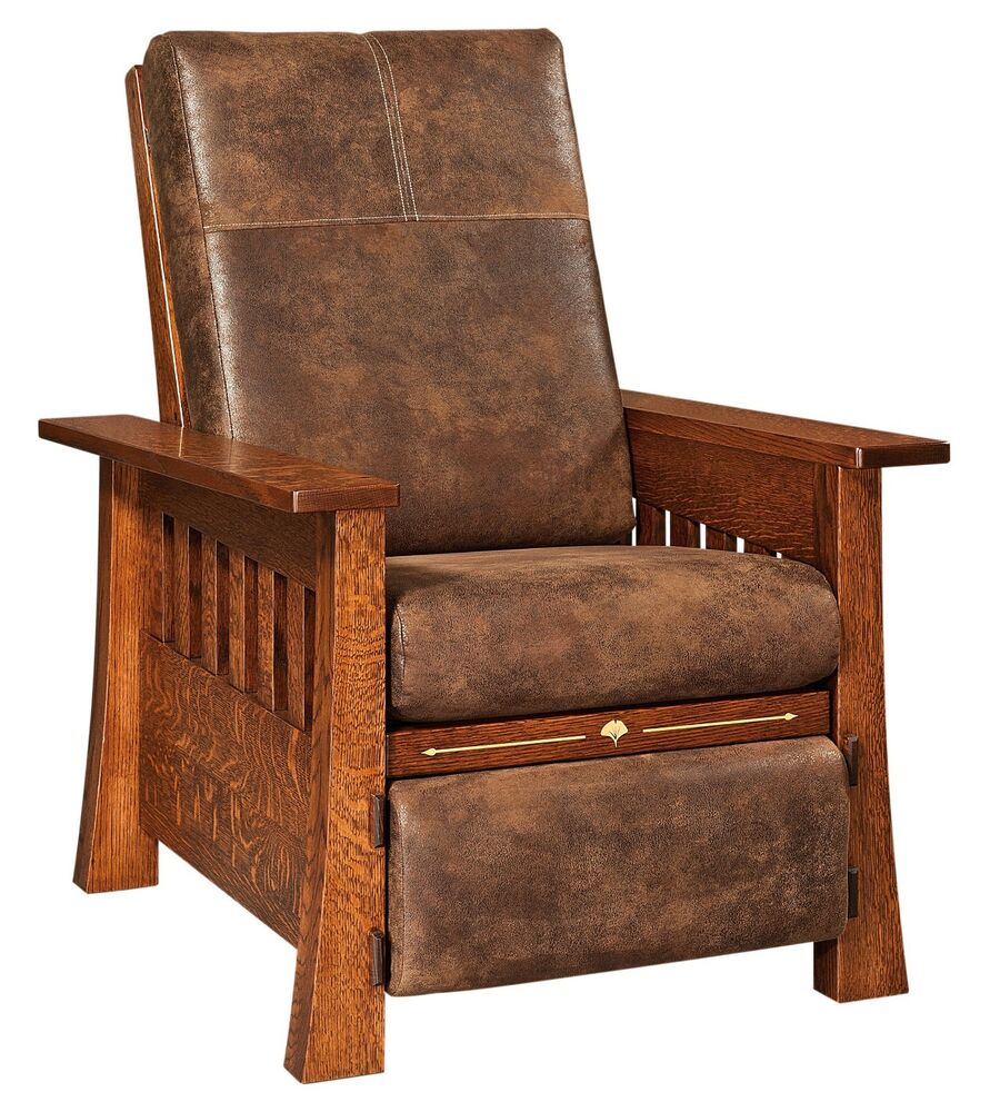 Amish Mission Arts  Crafts Mesa Recliner Accent Chair