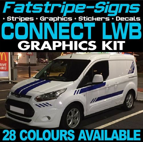 small resolution of ford transit connect lwb graphics stickers stripes decals van st m sport ebay