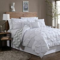 Reversible 7-piece Comforter Set King Size Bed Bedding ...