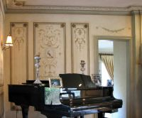 Versailles Side Panel Wall Stencil - LARGE - Detailed ...