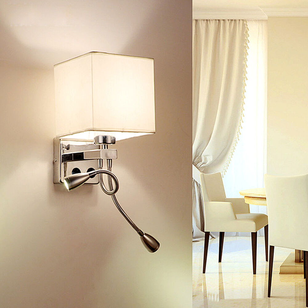 Wall Sconce Adjustable LED Wall Lamp Hall Porch Bedroom