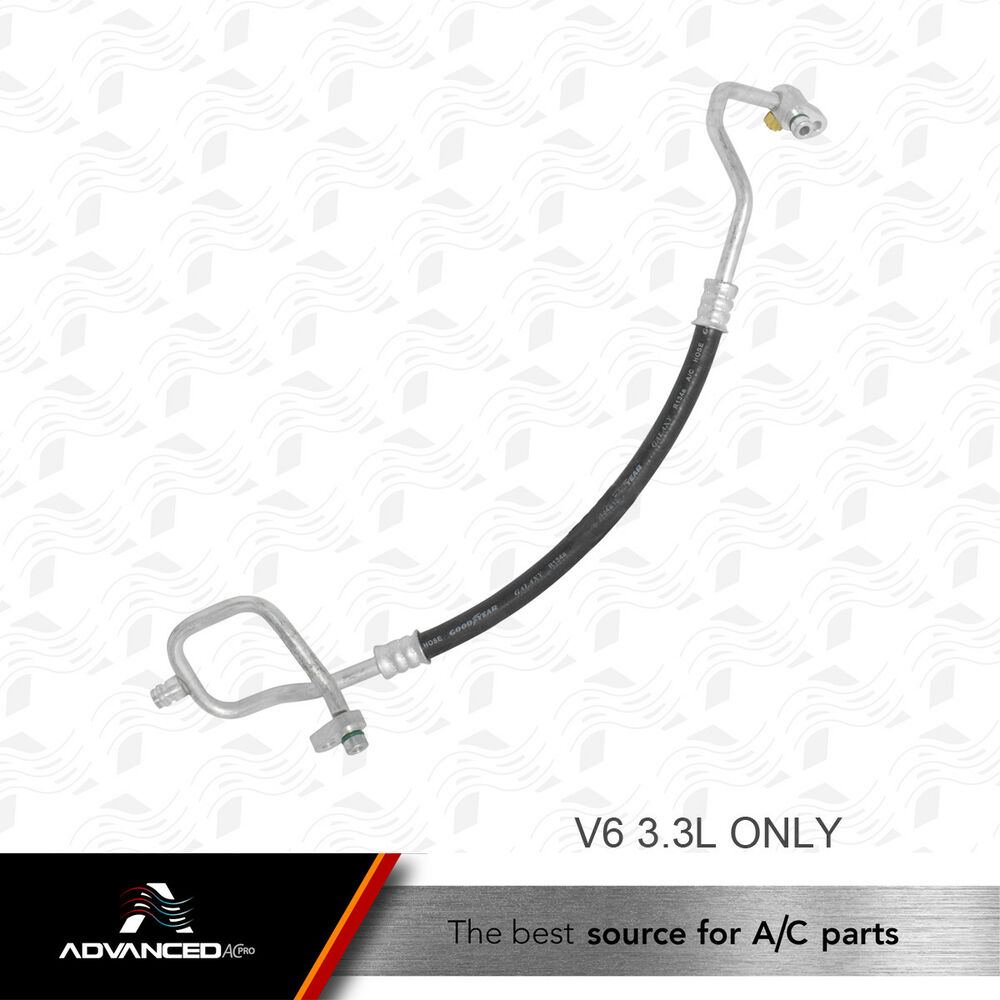 AC A/C Discharge Line Fits: 2000 2001 2002 Nissan Frontier