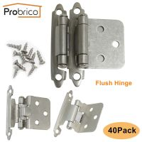 Probrico 40PCS Kitchen Cabinet Self Closing Door Hinges ...
