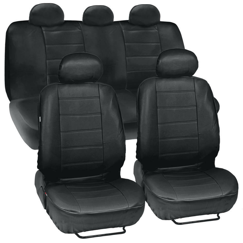 ProSyn Black Leather Auto Seat Covers for Chevrolet Cruze
