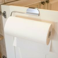 Over the Cabinet Door Paper Towel Holder for Kitchen or