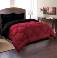Queen Reversible Comforter Set 3 Piece Bed in a Bag