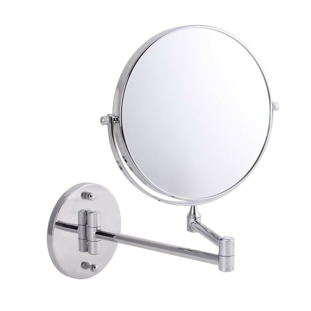 8inch 3x 5x 7x 10x Wall Mounted Magnifying Compact Makeup
