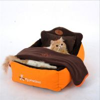 Luxury Dog Beds, Designer Pet Beds with Cozy Pillow