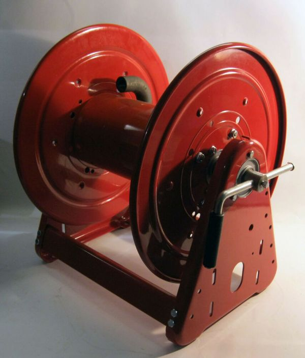 Heavy Duty Hand Crank Hose Reel 3000 Psi 1 2 Swivel Inlet Cap