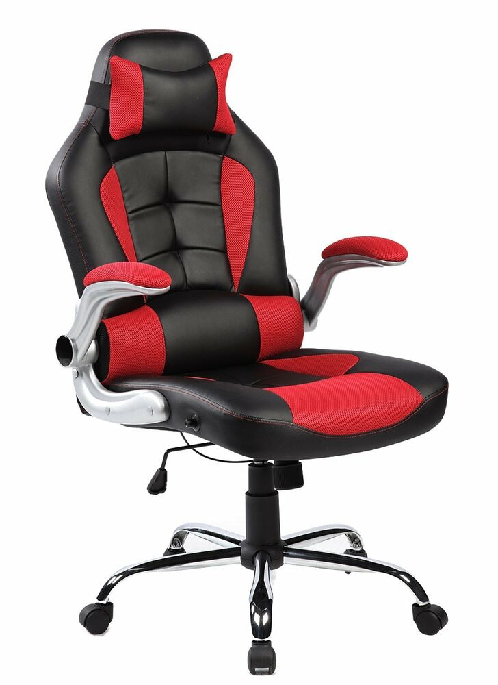 High Back Luxury Modern Racing Car Office Computer Game