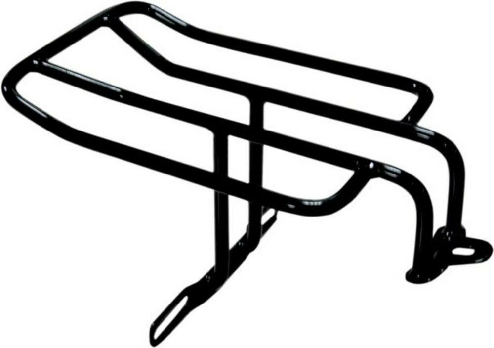 Black Fender Luggage Rack for Harley FXD Dyna Street Bob