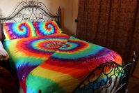 Tie dye Bed sheet set Twin, Full, Queen, King and Cal King