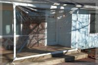 6' x 8' Clear Tarp 24 MIL Clear Vinyl Patio Enclosure ...