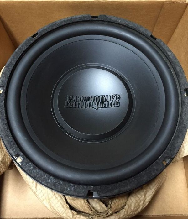 "School Earthquake 10"" Competition Subwoofer Ultra"