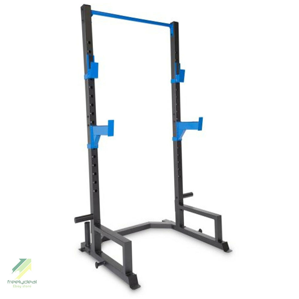 Power Lifing Cage Press Weight Rack Squat Fitness Pull Up