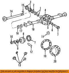 details about gm oem rear axle differential pumpkin cover 12479377 [ 900 x 1000 Pixel ]