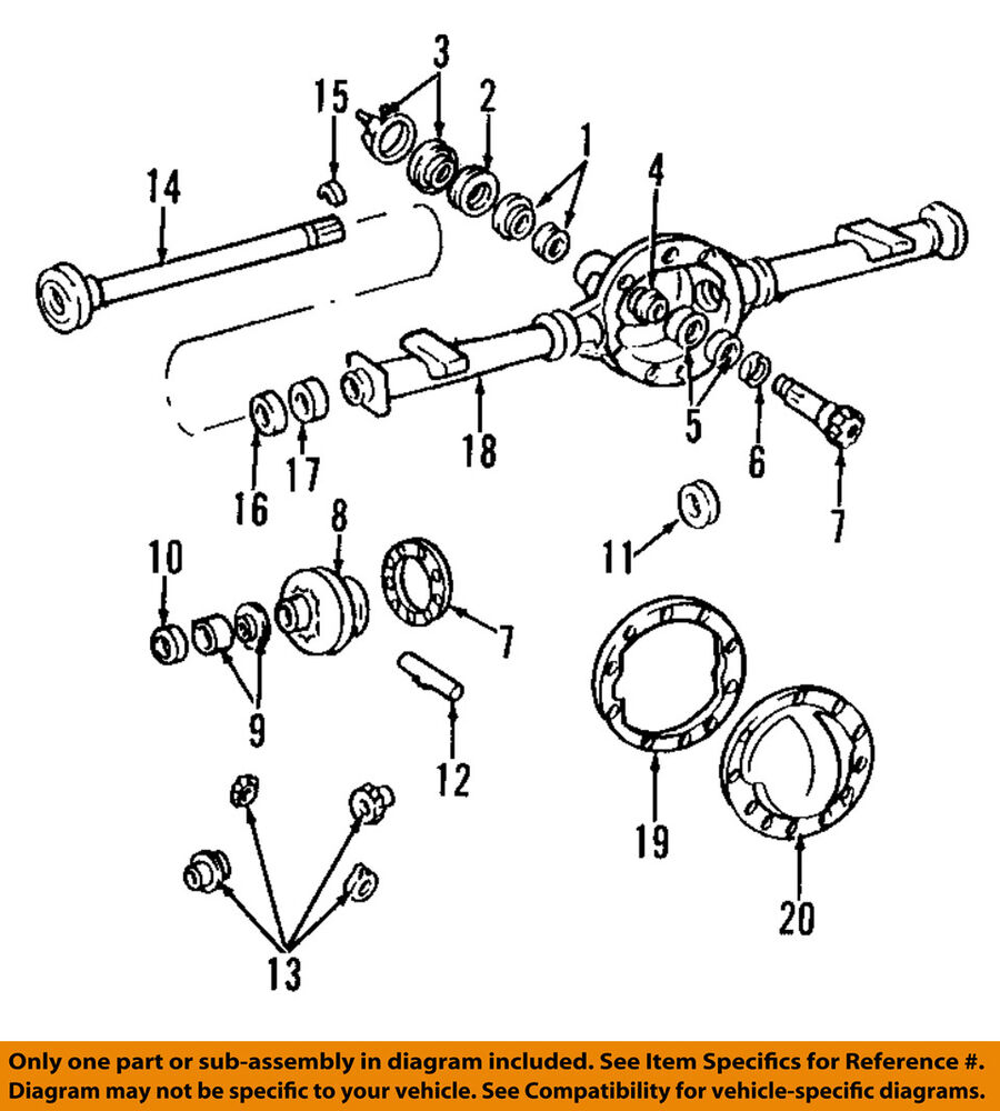 hight resolution of details about gm oem rear axle differential pumpkin cover 12479377